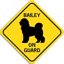 On Guard Signs