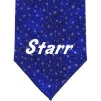 Blue w/Silver Stars